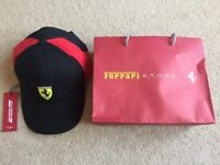 Brand new - Official Scuderia Ferrari baseball cap / hat - Adjustable - Unwanted present - RRP £40