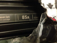 2 units HP CE285A Black Toner Genuine NEW (without BOX)