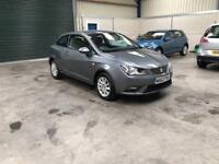 2013 seat Ibiza se cr 1.2 tdi 3 dr 1 owner excellent condition fsh guaranteed cheapest in country