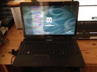 "eMachines 15.6"" laptop spares or repair works but broken screen"