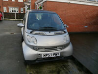 Smart For Two Passion 61 AUTO - Great Condition !First to see will buy! Low Mileage