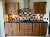 Used complete kitchen units and worktops