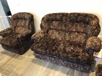 3-2-1 suite fabric sofa