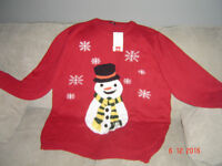 BRAND NEW (WITH TAG) COTTON TRADERS UNISEX CHRISTMAS JUMPER SIZE 2XL