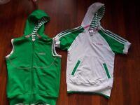 Adidas Original 2 x Hoodies size 8-10