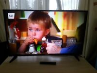 Nice rarely used BLAUPUNKT 49 inch smart tv for sale £290 collect from kingsbury model B49G148 T2