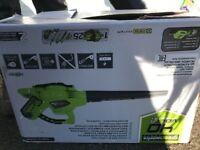 greenworks tools leaf blower