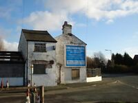 Advertising Space on gable end of Cottage