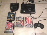 Original SEGA Mega Drive + 4 games + 1 controller