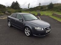 2007 Audi A4 2.0 Tdi S-Line ....Only 76,000 Miles....Finance Available....