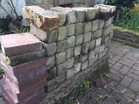 Selection of bricks free for uplift - SOMEONE IS COMING TO COLLECT TUESDAY