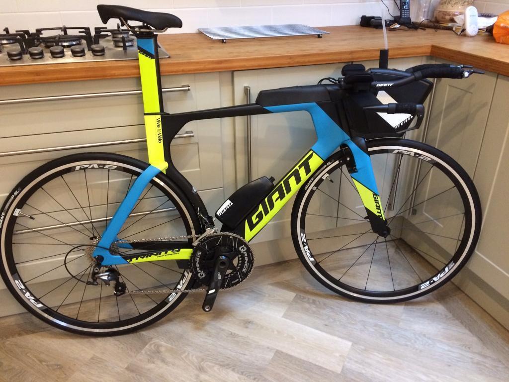 2017 Giant Trinity Advanced Pro 2 Tt Time Trial Triathlon Bike