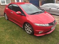 Honda Civic 2.0 i-VTEC Type R GT FN2 2008 (58) Milano red - Low mileage- Full service history