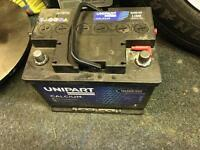 12V Car Battery fully working and tested 60AH 540CCA