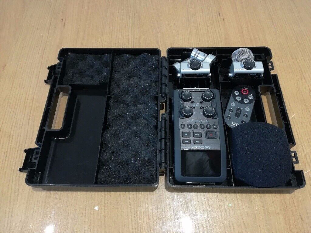 Zoom H6 Handheld Recorder with accessories + remote | in Musselburgh, East  Lothian | Gumtree