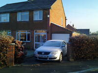 3 Bed Semi-Detached House with Garage in North Petherton