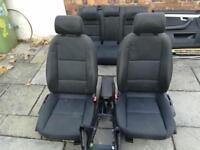 Audi b7 2005 interior seats door panels and centre console