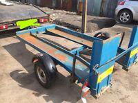 Plant trailer quad go-kart mini digger