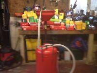 oil drainer and car van oil fuel air filters