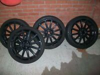 "Mille Miglia 19"" Wheels 5 x 100 Stud - 235 35 19"" VW - Audi etc"
