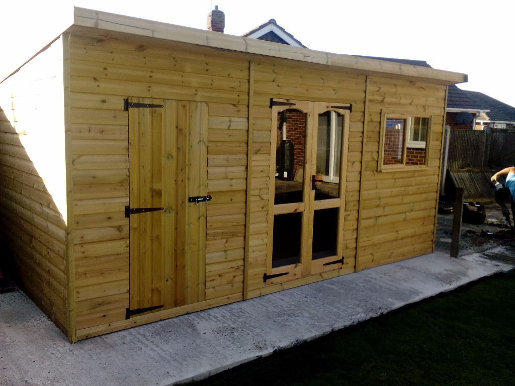 Summerhouse shed combination in margate kent gumtree for Shed office combo