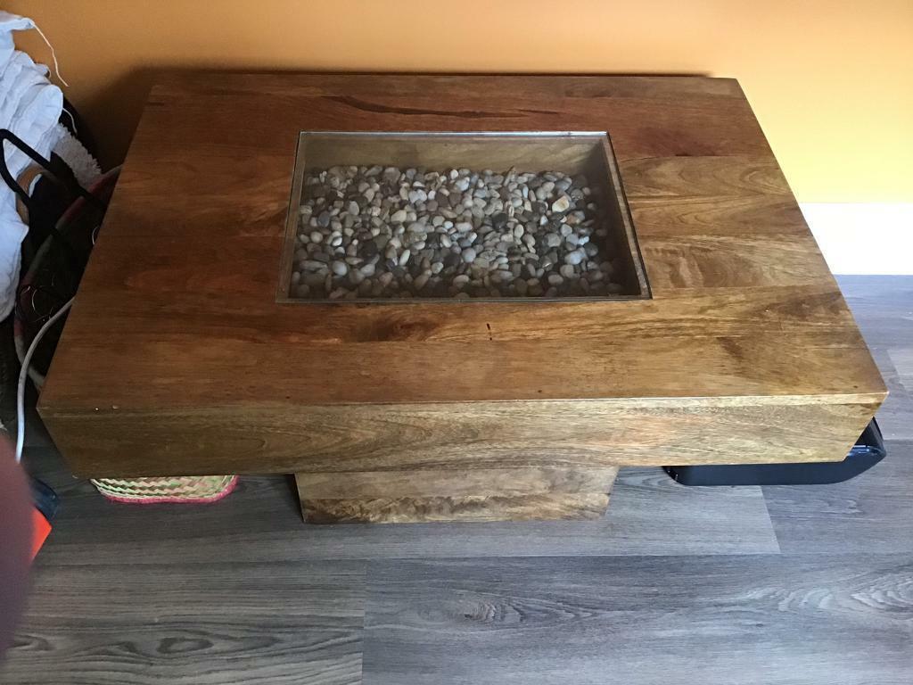Mango Wood Coffee Table In Ilkeston Derbyshire Gumtree