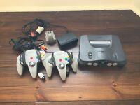 Nintendo 64 Console - Excellent Condition