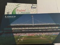 X2 PAKISTAN VS ENGLAND ODI @ LORDS. ROW 3 SOLD OUT EVENT