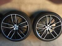 20 inch Bmw 405 m performance replica alloys and tyres