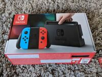 Nintendo Switch (mint condition, boxed)