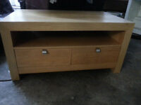 Wooden TV Stand With Drawers and Storage - DELIVERY AVAILABLE