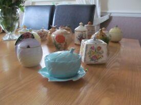 Jam/Presrve pot collection x 13