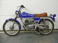 Gilera 50 RS Tourer 1974, moped, scooter, testi, cafe, tomos, fantic, c50, c90
