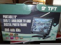 """9"""" DVB TV Digital Photo Frame"""