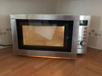 Tesco Combination Microwave Oven & Grill 800W Stainless Steel