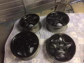 "4x100 ALLOY WHEELS 14"" 7j"