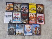 A selection of 14 x DVDs