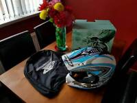 Wulfsport predator helmet (M) as new