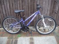 Lovely metallic purple Apollo CX24 (suitable for teenager or short lady)