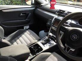 Vw Passat Cc - panoramic sunroof, new tyres, £5500