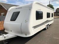 Hobby caravan 645 vip collection (2012/13) like tabbert/fendt
