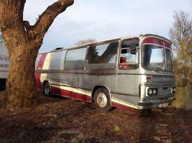 Bedford Vintage coach duple bodied dominant, race transporter conversion, Motorhome, camper, Bus