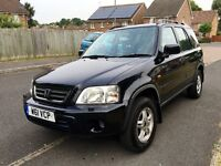 Honda CR-V automatic 2000/W p-ex welcome mot may 2017