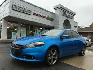 2015 Dodge Dart GT,LEATHER,ALLOYS,NAV,B/U CAM,