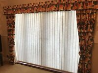 French Door / Patio Door Curtains - excellent condition