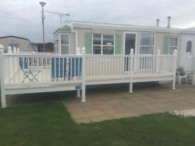 Static Caravan for Hire in Towyn North wales on a friendly family park