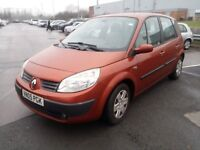 RENAULT SCENIC EXPRESSION 1.6 PETROL 2005 MANUAL 5 SEATER