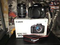 Canon EOS 750D 24.2 MP DSLR Camera - 1080p - Black