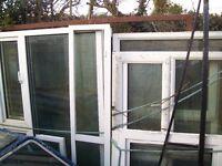FREE///FREE/// UPVC windows misfits n used/ not doors or wood/pickup only