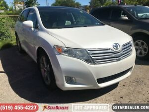 2010 Toyota Venza V6 | LEATHER | NAV | ROOF | AWD